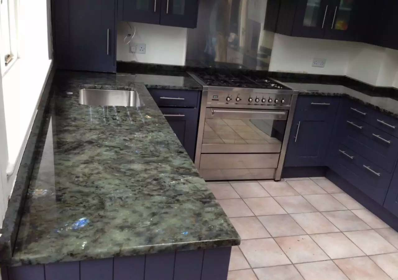 Kitchen Countertops Product : Jade blue labradorite bathroom kitchen vanitytop