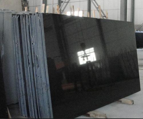 Absolute Black Granite Slab for granite worktops