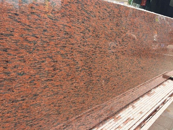 Camelia Pink/American Red Granite Flooring Tiles