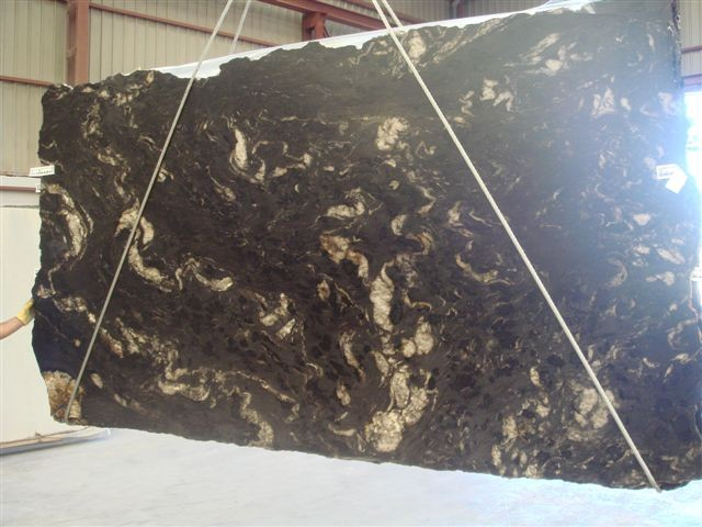 Black Titanium Granite : Cosmos black brazil matrix titanium granite slabs