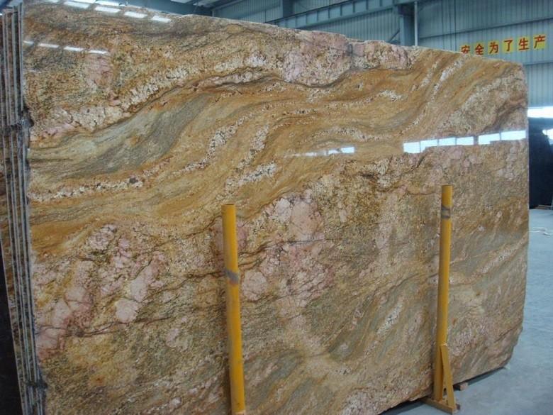 Granite Countertops Product : Imperial gold granite slabs for formica countertop