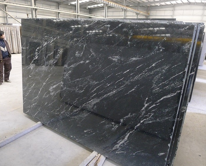 Brazilian Granite Slabs Wholesale : Natural stone black nevada brazil granite slabs