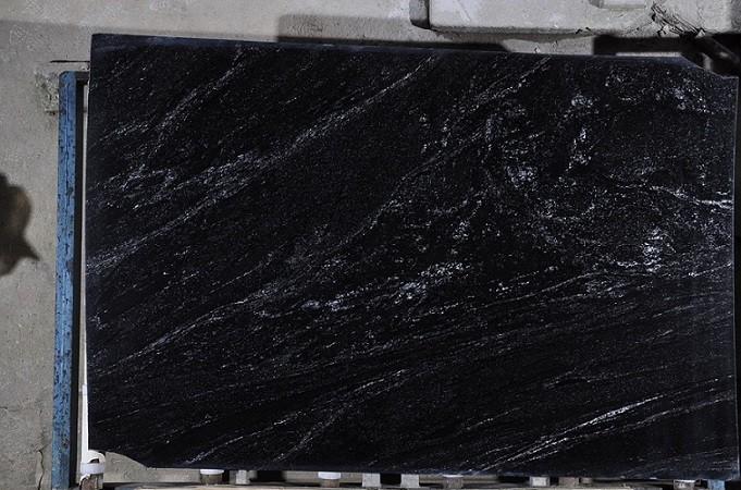 Black Granite Slabs Product : Natural stone black nevada brazil granite slabs