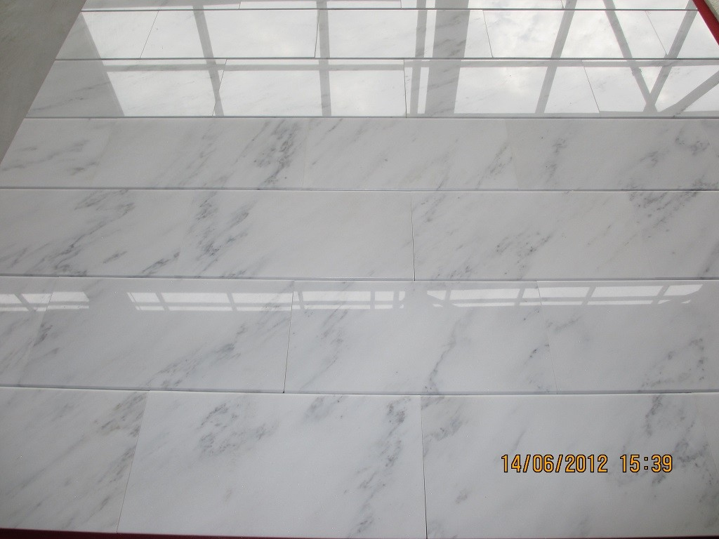 Marble Tiles Product : Starry white chinese marble flooring tile