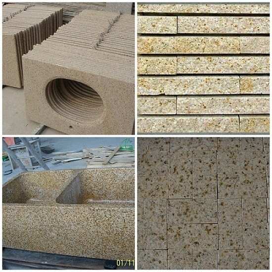 Stone G682  Granite Slab for Countertop and Tile