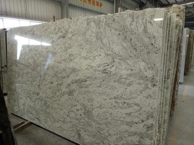 andromeda white granite tiles for floor covering