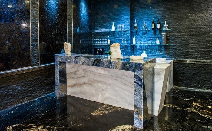 azul bahia,brazil blue bahia granite furniture