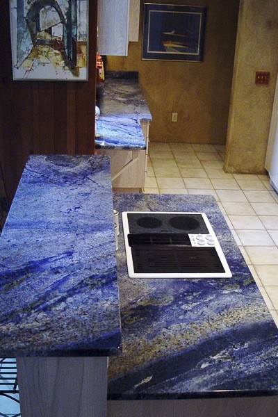 Azul Bahia,brazil Blue Bahia Granite Furniture