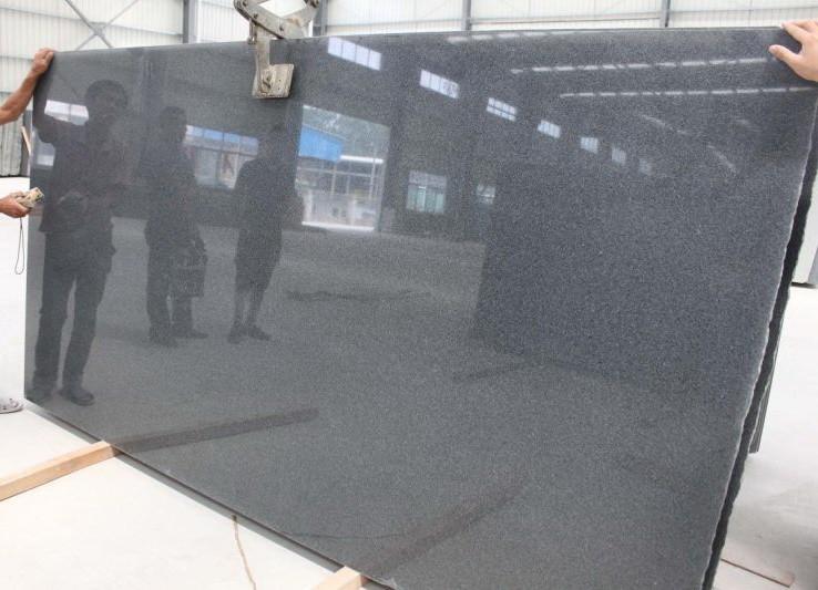 sesame black granite g654
