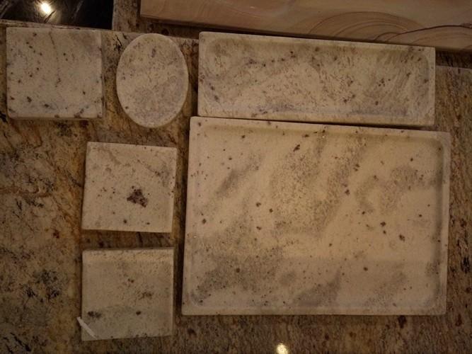 stone art article gift Iphone dock/base stone