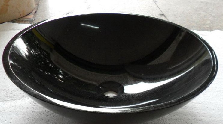 Natural Polished Hebei Black Granite For Tombstone