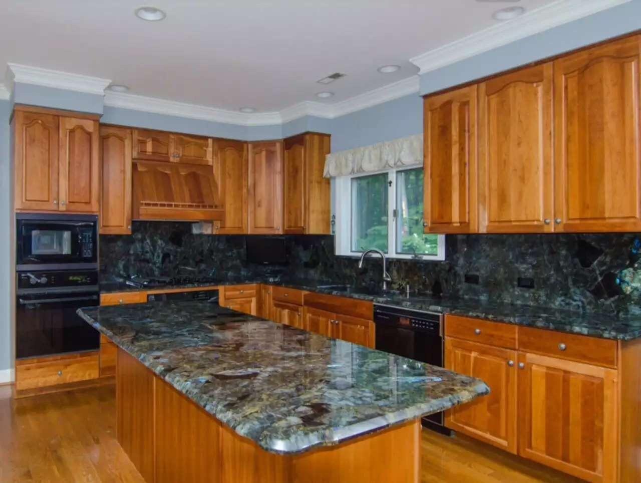 Marble Countertops Product : Jade blue labradorite laminate countertops