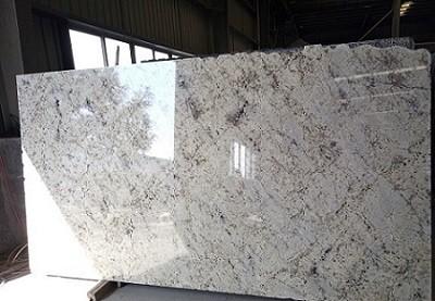 Pure White Polish Granite Slabs/Tiles/ Countertops