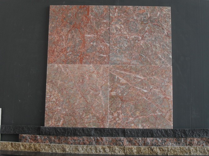 Agate Red Egeo Rose Marble  Flooring/Walling Slab