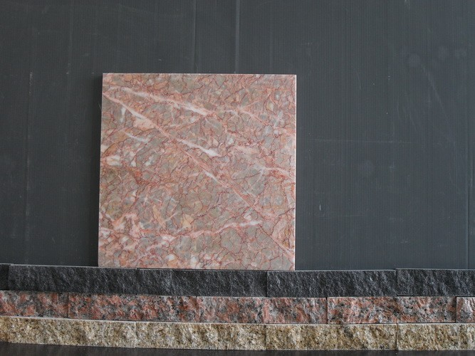 Agate Red Egeo Rose Marble Tile Slab for Bathroom