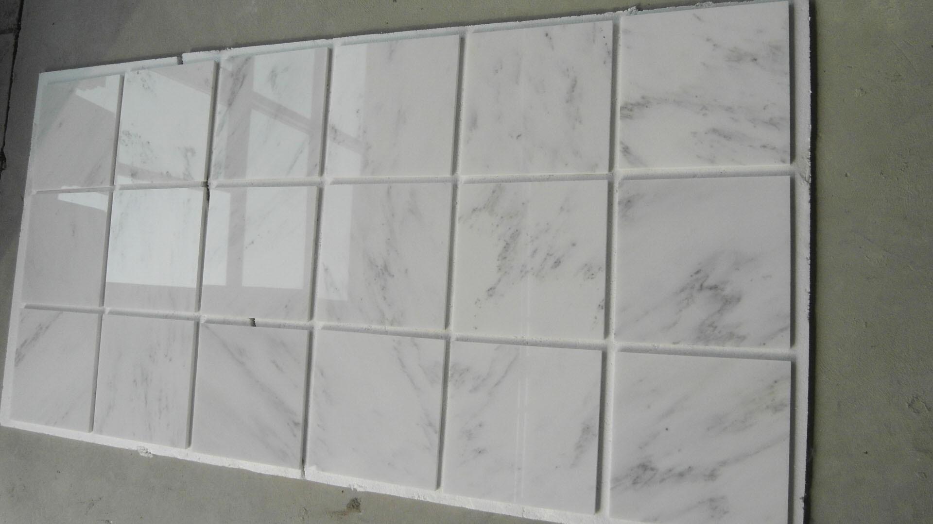 Star White Chinese White Marble Flooring tiles