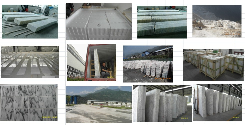 starry white star white chinese white marble slabs