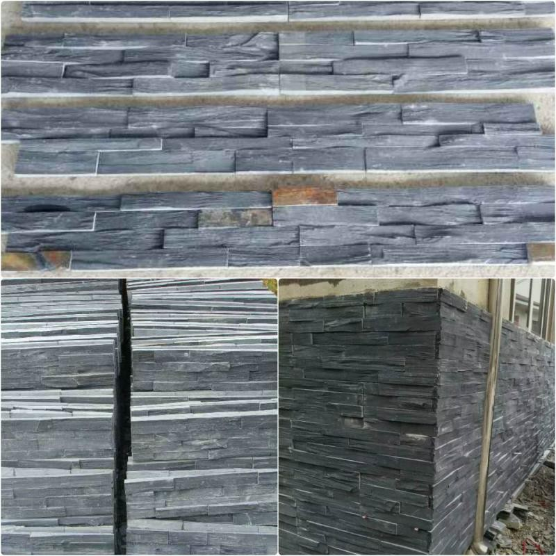Wholesale Natural Stone Black Slate Placemats
