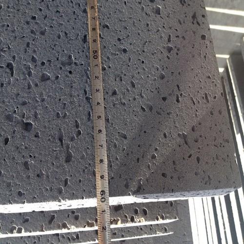 Natural Pavestone Black Grey Basalt / Lava Stone