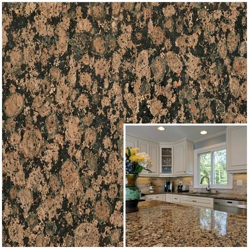 Natural Baltic Brown Granite Slabs for Count Top
