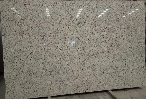 Natural Polished Beige Granite Slab White Rose