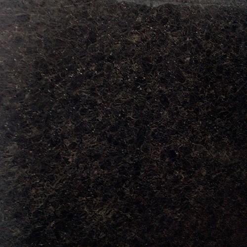 Natural Polished Black Granite Slab Brown Pearl