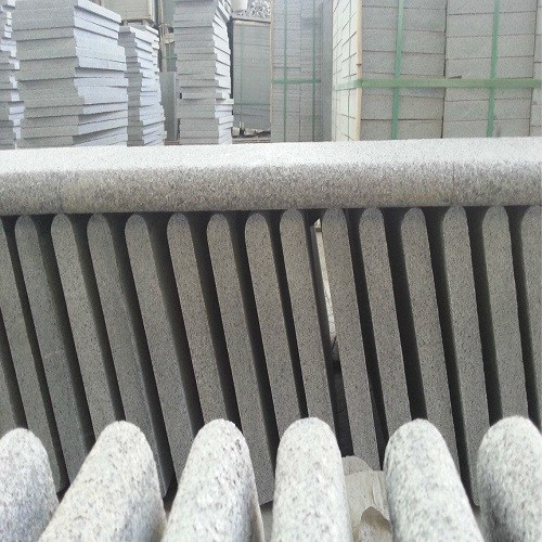 Flamed Grey Granite Tiles G654 with Bullnose Singl