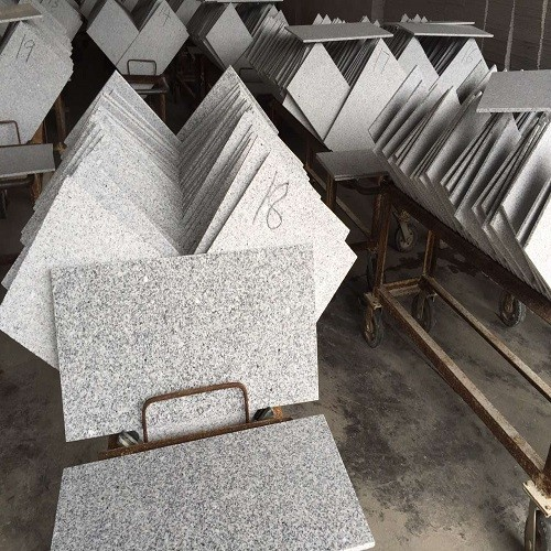 Flamed Natural Grey Granite Tiles
