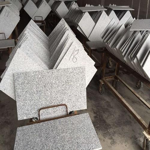 Flamed Natural Grey Granite Tiles