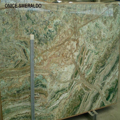 Green Water Marble Slabs : Imported natural green granite slab onice smeraldo