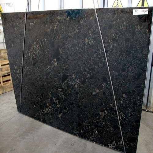 Natural Black Granite Slab Black Beauty