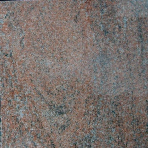 Product Red Granite : Polished natural granite multicolor red with good