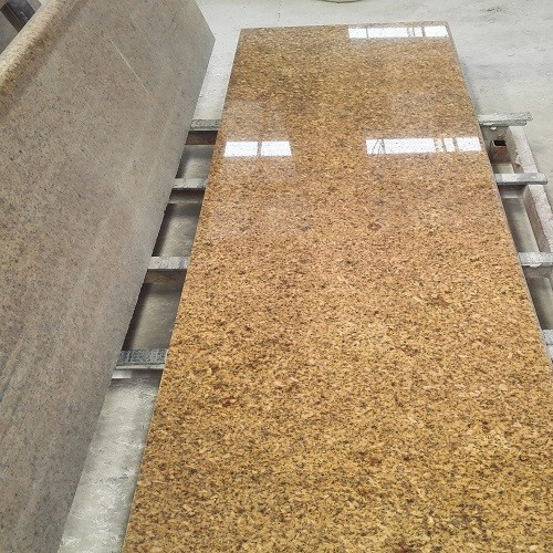Polished Yellow Gold Granite Slab
