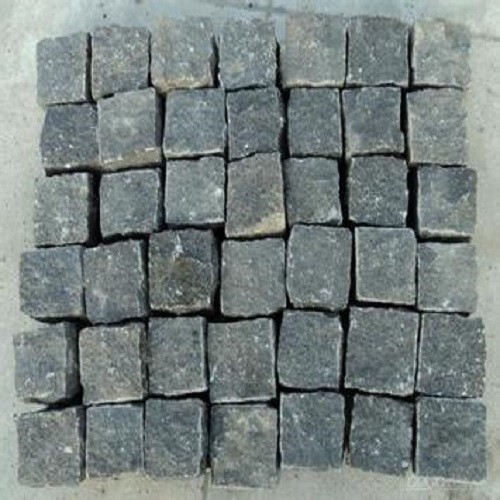 Dark Grey/Black Natural Granite Paver