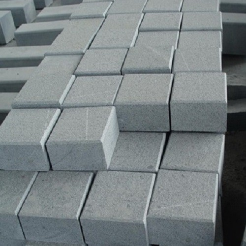 G654 Granite Cube Stone / Padang Dark Grey Granite