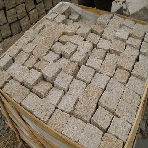 G682 Yellow Granite Paver Stone