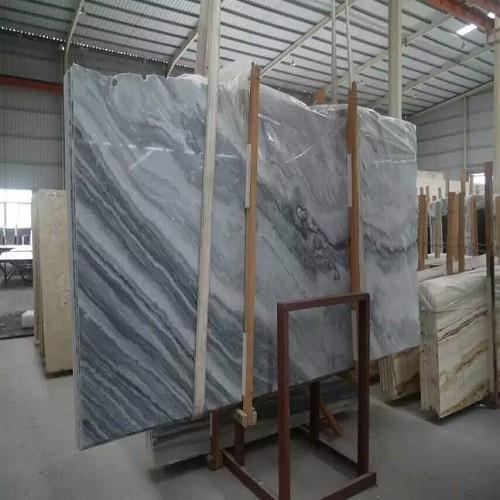 China Cloudy Grey Marble Slabs