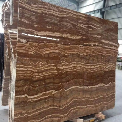 High-Grade Polished Marble Slab