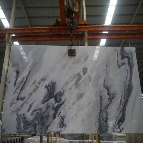 Natural Chinese Landscape Painting Marble Slab