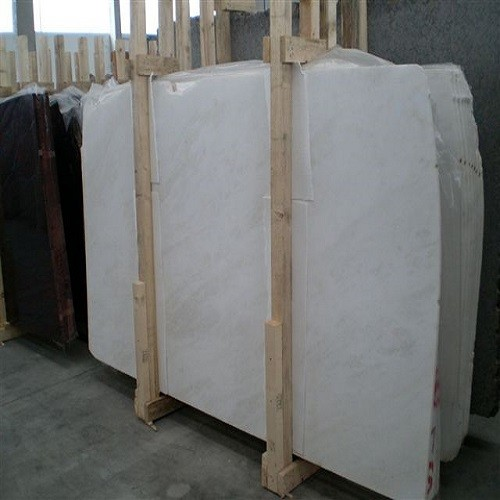 Polished African White Natural Marble Slab