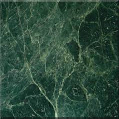 Polished Dark Green Marble Slab