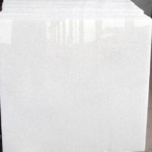 Polished Natural China Crystal White Marble Tile