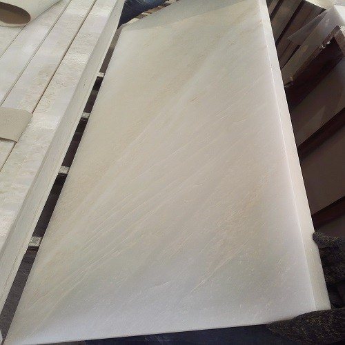 Polished White Marble for Worktop/Countertop