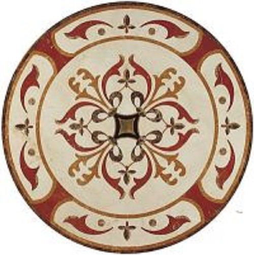 Classical Style Water-Jet Medallion Tile for Floor