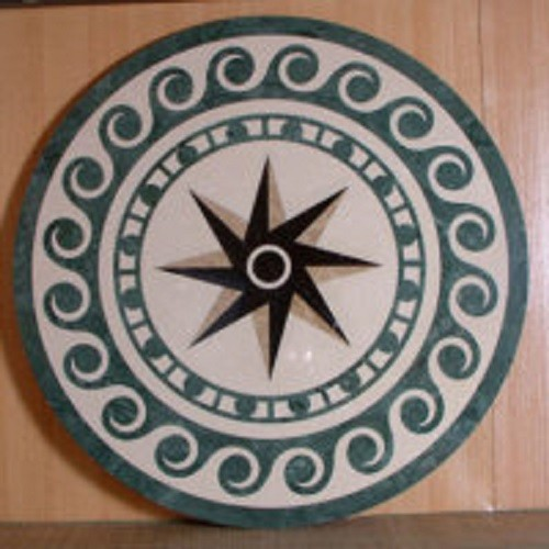 Marble Waterjet Medallion for Floor Decoration