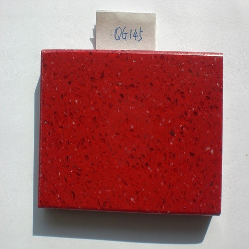 Red Artificial Quartz Stone (QG145)