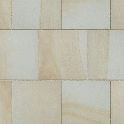 Honed Light Yellow Wood Grain Sandstone for Tile