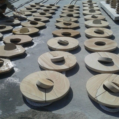 Yellow Sandstone for Landscape/Decoration/Paver