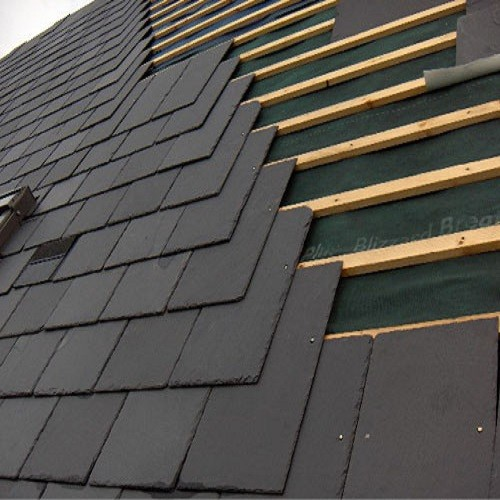 Natural Black Roof Slate Tile for Roofing