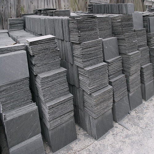 Natural Grey Slate Stone Tiles for Roofing